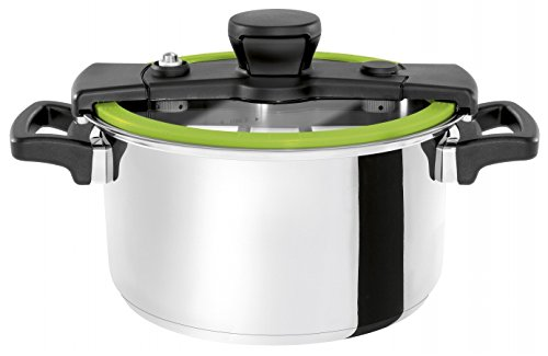 Wisconsin Aluminum S4G The Sizzle 4 Liter Pressure Cooker44; Green