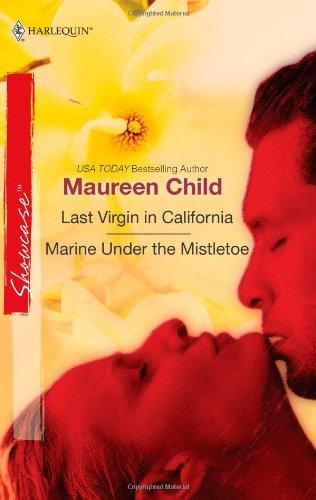 book cover of Last Virgin in California / Marine Under the Mistletoe