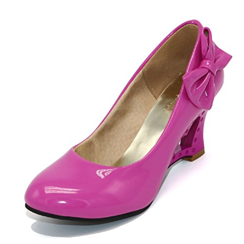 Unbekannt Para Mujer De Rosa Vestir Zapatos Sintético Material 6waS64q