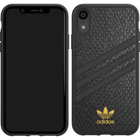 4283b31476e67 Amazon.com: Adidas Samba Case for iPhone XR in Blac: Cell Phones ...