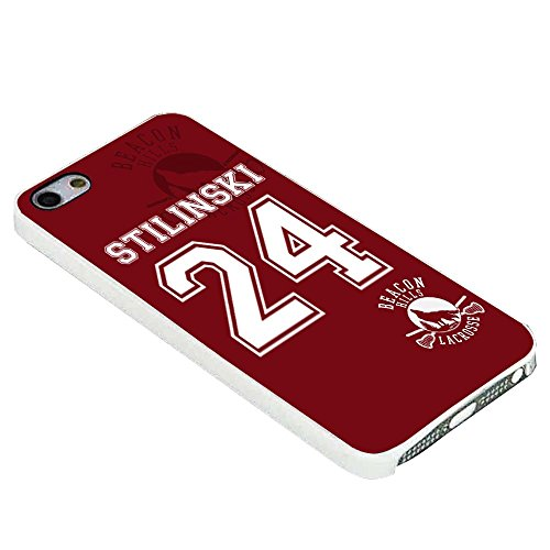 Teen Wolf Stilinski Lacrosse Jersey for Iphone Case (iPhone 6s plus white)