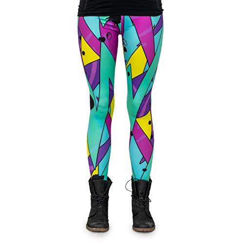 cosey – Neon Line Leggings (one size fits all) – in verschillende Neo-Crossline Design