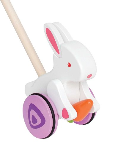 Top 10 recommendation wooden pull toy bunny for 2020