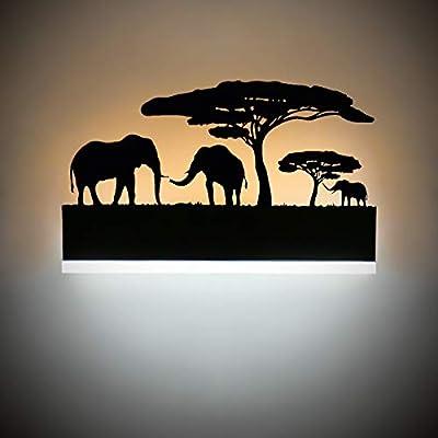 Kernorv Led Wall Sconce, 18W Wall Sconce Lighting for Bedroom Living Room Hotel Bathroom Cafe