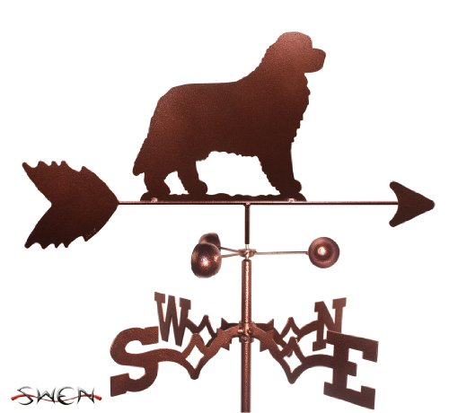 Hand Made NEWFOUNDLAND DOG GARDEN Stake Weathervane ~NEW~