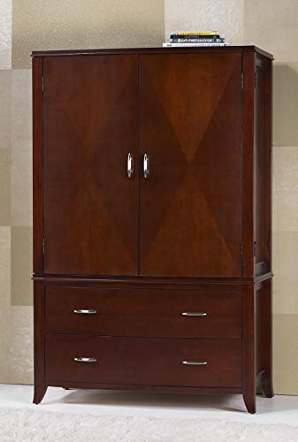 (Modus Furniture BR1585 Brighton Armoire Cinnamon)