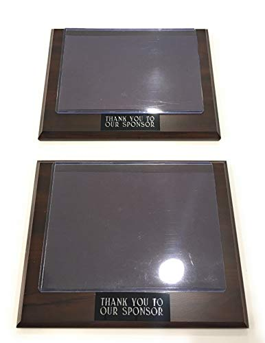 Sponsor Appreciation Plaque 9