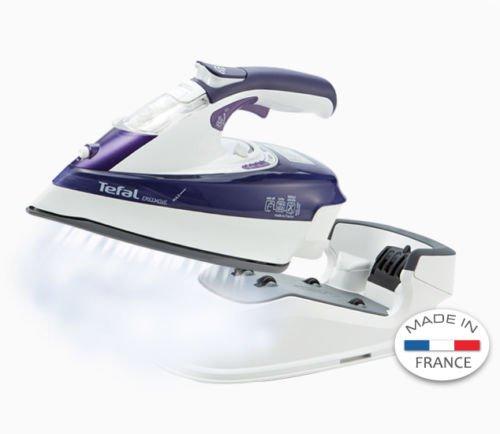 220~240v/ Tefal Fv9990 250ml Purple Free Move Cordless Steam Iron Homeware 387 by Tefal