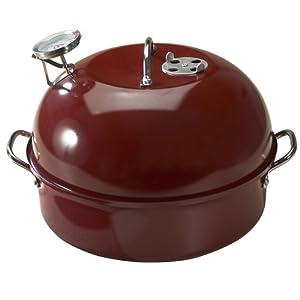 Nordic ware 365 indoor outdoor kettle smoker for Amazon casalinghi