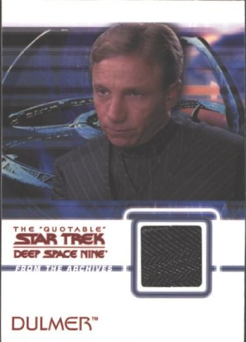 (Quotable Star Trek Deep Space Nine C14 Dulmer Costume Card)