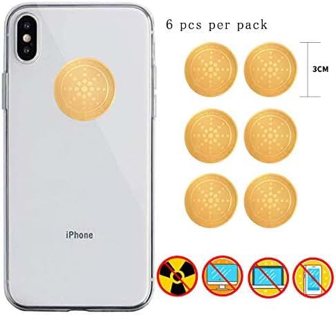 EMF Protection Cell Phone Sticker Anti Radiation Shield EMR Blocker (6)