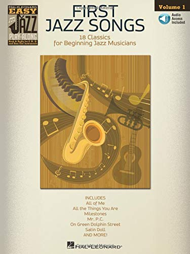 Blues Trumpet Hal Leonard - First Jazz Songs: Easy Jazz Play-Along Volume 1