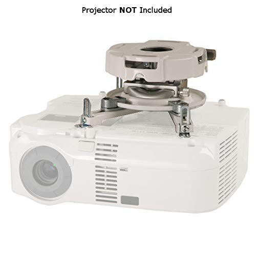Peerless PRG-UNV-W Precision Gear Universal Projector Mount - White (Discontinued by Manufacturer)