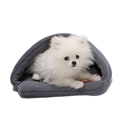 Yuting Soft Warm Pet Dog Cat Bed House Plush Cozy Nest Mat P