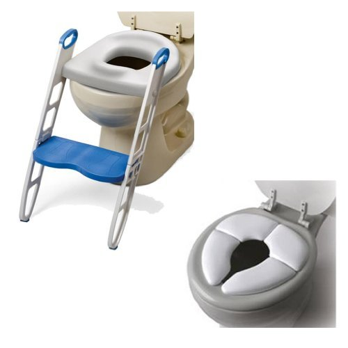 Mommy's Helper Contoured Cushie Step-Up with Cushie Traveler Potty Seat ()