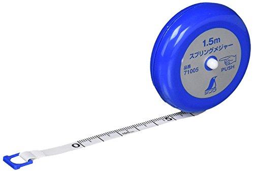 Japanese SHINWA Spring Tape Measure Ruler 1.5m 71005