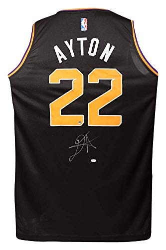 DEANDRE AYTON Autographed Black Statement Edition Fastbreak Jersey - GAME DAY LEGENDS & -