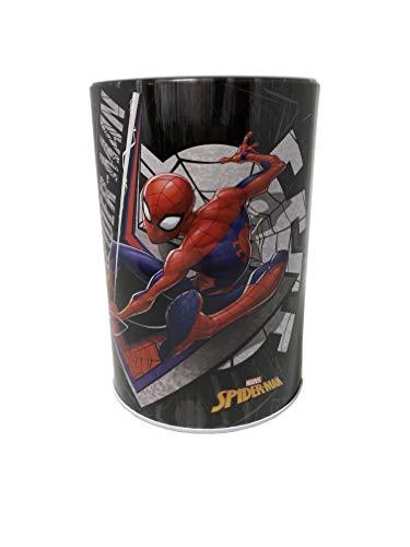 Box Bank Tin - The Tin Box Company Spider-Man Kids Money (Coin) Saving Bank