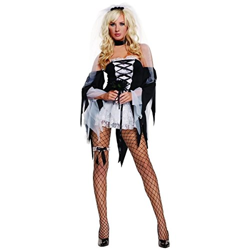 Diane Tawed Costume - Small - Dress Size 2-6 (Sexy Zombie Nurse Costume)