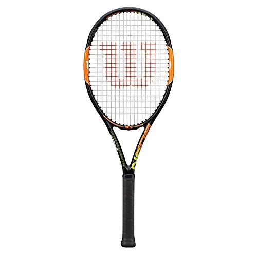 Wilson Burn 95 Unstrung Tennis Racquet, Grip size: 4-1/8