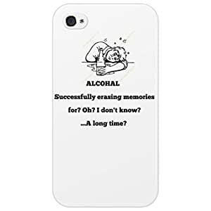 ALCOHAL! Successfully erasing memories, for I don't know?...A long time? Phone Case iPhone 4/4s