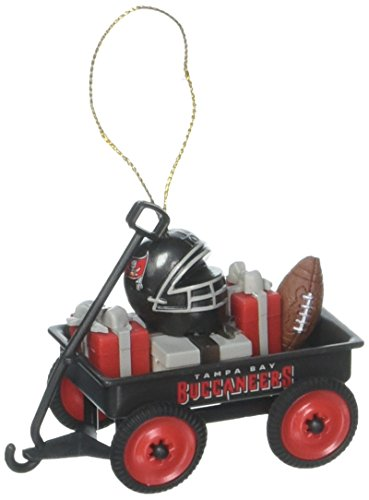 - Team Sports America 3OT3829WGN Tampa Bay Buccaneers Team Wagon Ornament