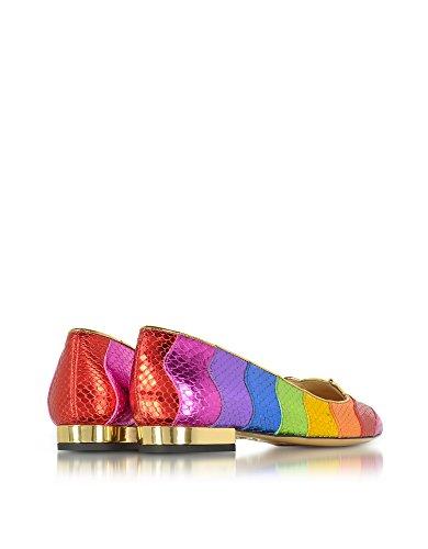 Ballerines Charlotte Olympia Pour Femme C185650960 Multicolore En Cuir