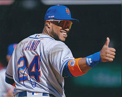 Autographed Robinson Cano 8x10 New York Mets Photo