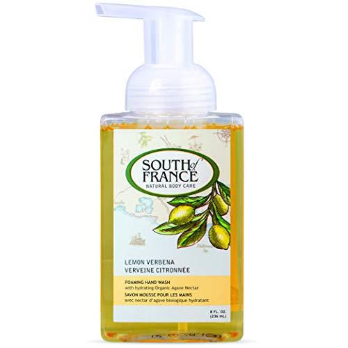 Lemon Verbena - South of France Natural Body Care 8oz Foaming Hand Wash (3 Bottles) ()
