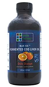 Green Pastures Fermented Cod Liver Oil Oslo Orange
