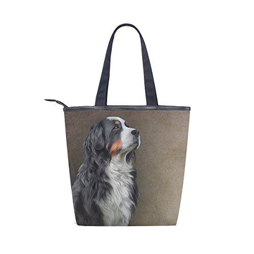 Tote Bernese Shoulder Bag Womens Dog Mountain MyDaily Handbag Canvas FZqvxwqf