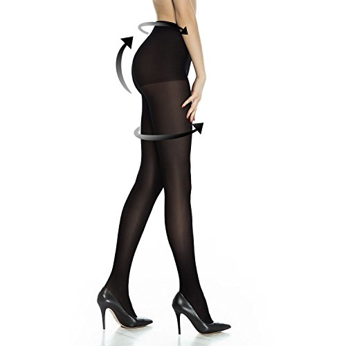 Buy black lace dress coloured tights - 5