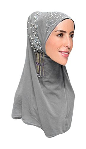 Hanas Womens piece Pearl Hijab