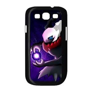 Funda Samsung Galaxy S3 9300 caja del teléfono celular Funda Negro Pokemon Darkrai C6G1IS