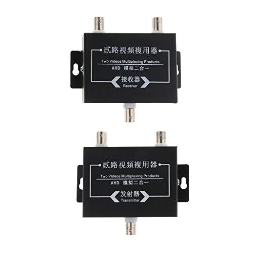 Baosity 2Pcs Industrial Surveillance Video Multiplexer 2Way Signal Receiver Transmitter by Baosity (Image #9)