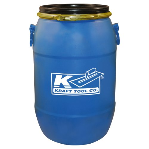(Kraft GG601 15 Gal Mixing Barrel with Lid)