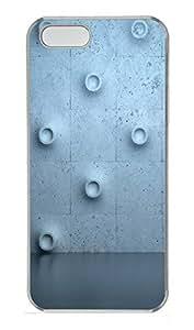 iPhone 5 5S Case Wall Bulge Flooring Texture783 PC Custom iPhone 5 5S Case Cover Transparent