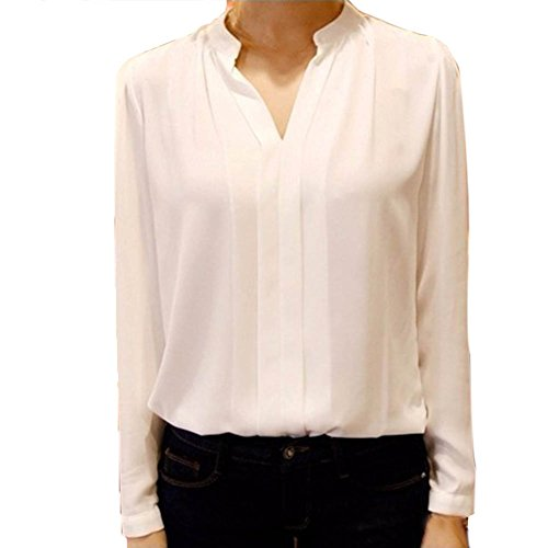 Henghzi Womens Office Blouse Sleeve