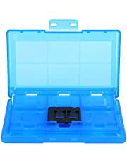 Cartridge Case Delicate Touch Feeling Long Service Life Game Cards Case Superior ABS Material Fine Workmanship Easy for Store for Home Game Cards Office Switch(Blue)