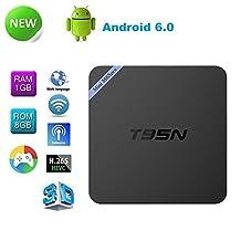 Twipro Mini M8S Pro T95N GPU 2G/8G CPU Amlogic S905 Quad Core Mali-450 Google Android 6.0 Player 4K XBMC Smart TV Box Streaming Media support WiFi HDMI DLNA