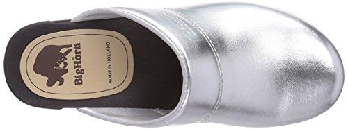 11 Silber Argento Silber Donna Zoccolo 3600 Zilver da Bighorn Clog 36 Gevavi Silber Flexibler POFqwxZ