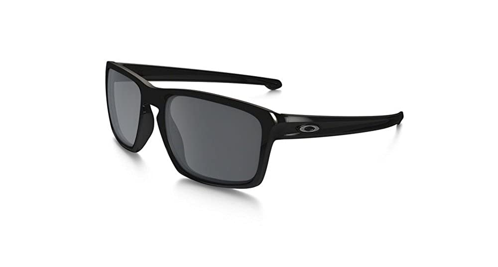 2a74de645a Oakley Men s Sliver OO9262-07 Polarized Rectangular Sunglasses  Amazon.in   Clothing   Accessories