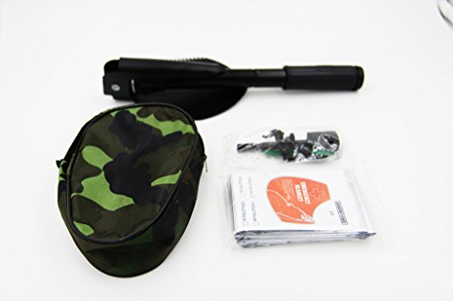 Taousa-outdoor-camping-survival-kit-Emergency-Mylar-Thermal-BlanketsPortable-folding-shovel-with-Compass-40g-big-size-Survival-Magnesium-Flint-Firesteel