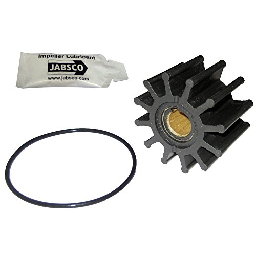 "Jabsco Impeller Kit - 12 Blade - Neoprene - 2-9/16"" Diameter (Renewed)"