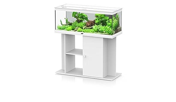 Aquatlantis Conjunto Acuario + mueble estilo LED todo équipé 100 blanco: Amazon.es: Productos para mascotas