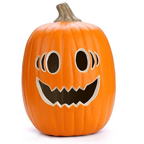 Nmch Kids' Room Lamps, Pumpkin Shaped, Jack O' Lantern, 7W Bulb Included, Fast Delivery (13