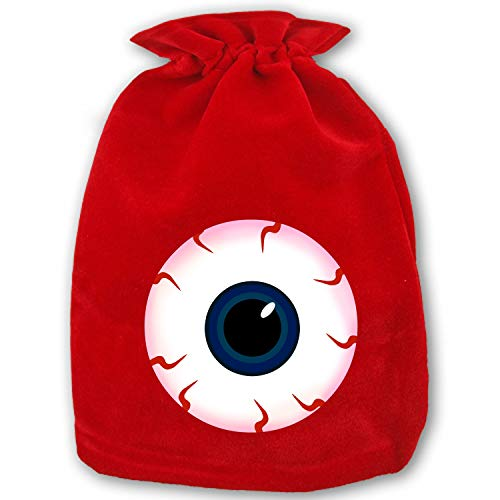 Christmas Gift Bags Eyeball Halloween Wrapping Holiday Drawstring Gift Bags for Party Wedding,Christmas Valentine,School Classrooms and Party -