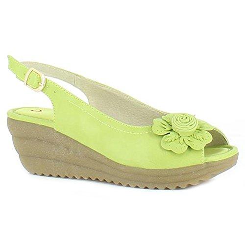 Heavenly Feet Renee, colore: verde Lime