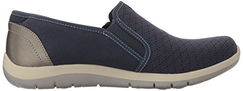 Aravon Women's Side Blue Fashion Sneaker Zip Wembly rraxwqgSf