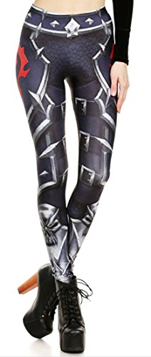 World of Warcraft Horde Logo Polyester/Spandex Womens Leggings